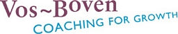 Vos-Boven Coaching for Growth Logo